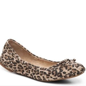Lucky Brand Eadda Leopard Print Flats